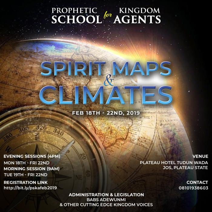 Prophetic School for Kingdom Agents February 2019 Audios